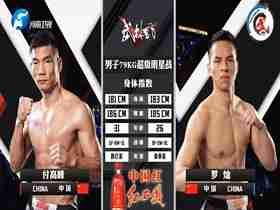 2020年11月28日武林风 付高峰vs罗灿 - 直播[视频] 散打vs泰拳