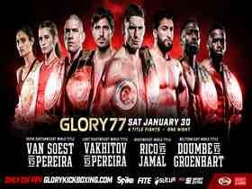 2021年1月31日Glory荣耀格斗77期 - 直播[视频] Verhoeven vs. Gerges