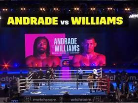 2021年4月18日中量级拳赛 安德拉德vs威廉姆斯 - 战报[视频] ANDRADE Vs L.WILLIAMS